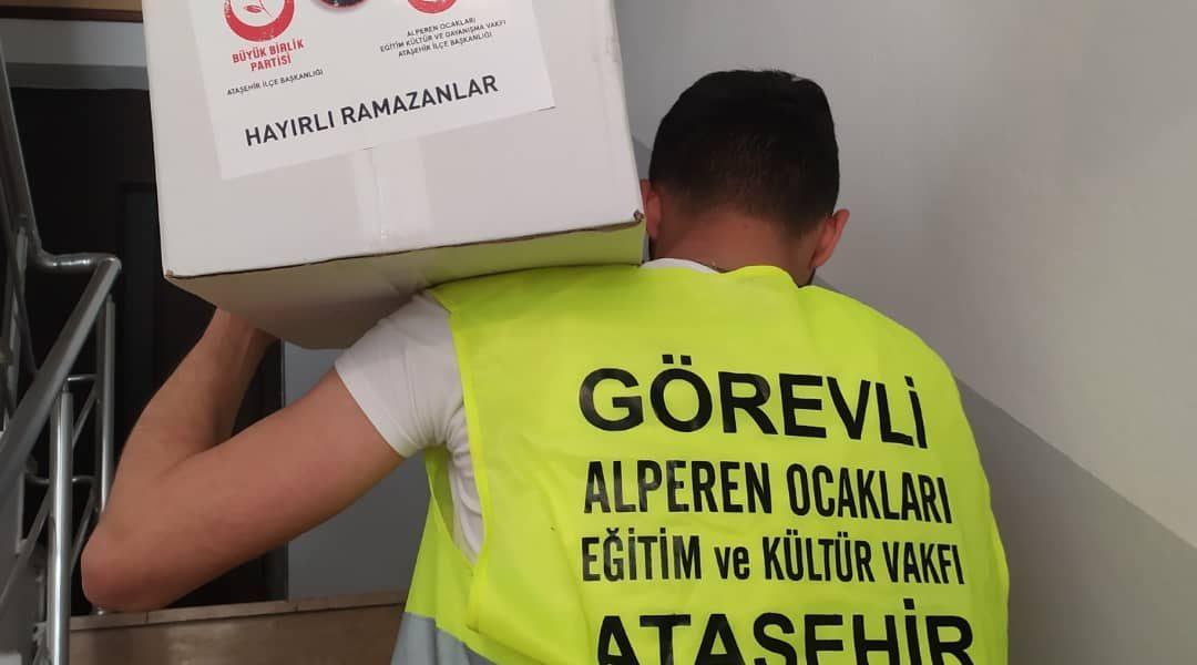Ataşehir Alperen Ocakları Ramazan Kolisi Yardımı
