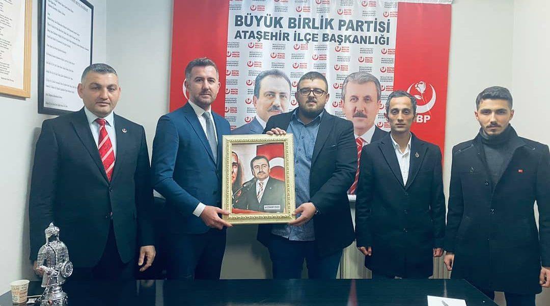 Büyük Birlik Partisi Genel Başkan Yardımcımız Ve İstanbul İl Başkanımızın Ziyareti